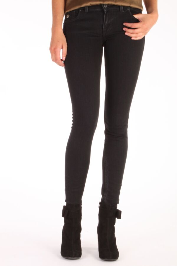 Kuyichi jeans Nova super skinny 33180506 in de wassing deep pressed.