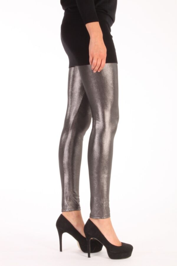 Patrizia Pepe leggings 4P0174 AU73 Y224 Metal Grey