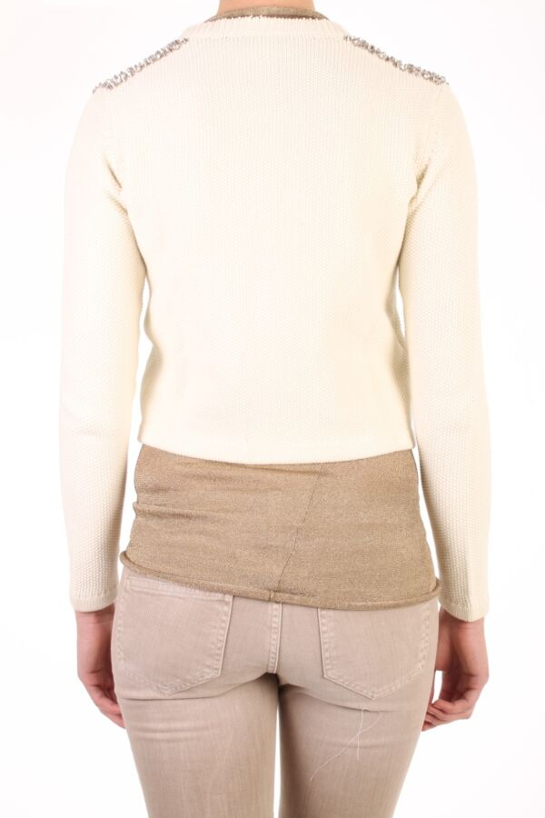 PINKO Pero Vest in Bianco Seta - 1T102NZ1G9 Z07