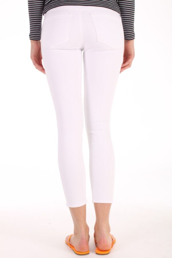 Citizens of Humanity Avedon Skinny Ankle Jeans in Optic White - 1498-547 OPW