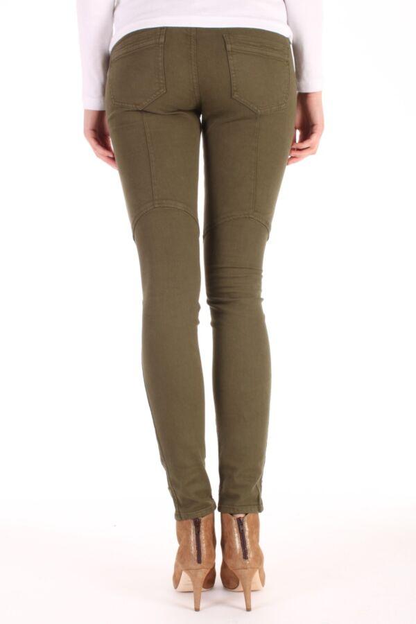 PINKO Matteotti Skinny Pants in Notte Verde Oliva - 1G10AUZ1HQ X23