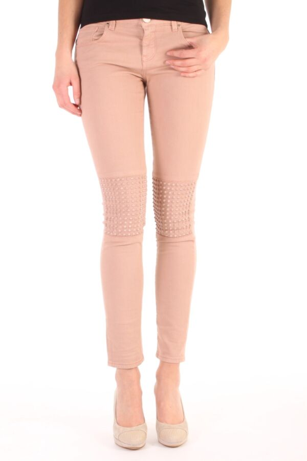 PINKO Montmartre Skinny Jeans in Rosa Tuscania - 1G10B2Z1HQ Q36
