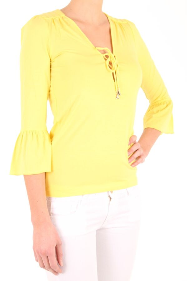 Patrizia Pepe Top 3/4 mouw 2M3079 A13 Taxi Yellow